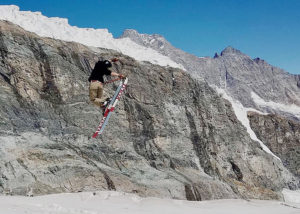 Felix Estes, Cioffredi Client, Skiing in Europe