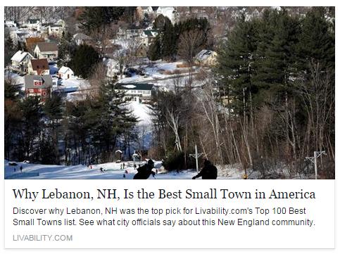Lebanon Number 1 Town 2015