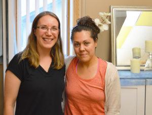 LMT Sadie Broadley and Sara Munoz
