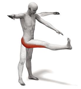 Dynamic Stretch Example 1: Straight Leg March