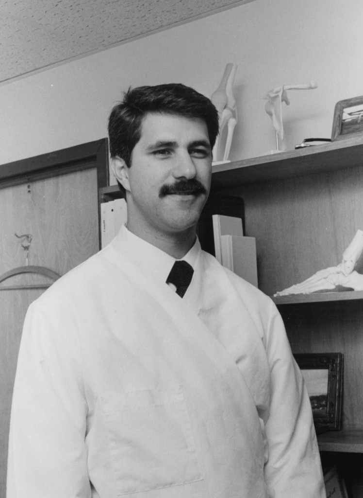 Bill Cioffredi in his early days as a Physical Therapist, circa 1980