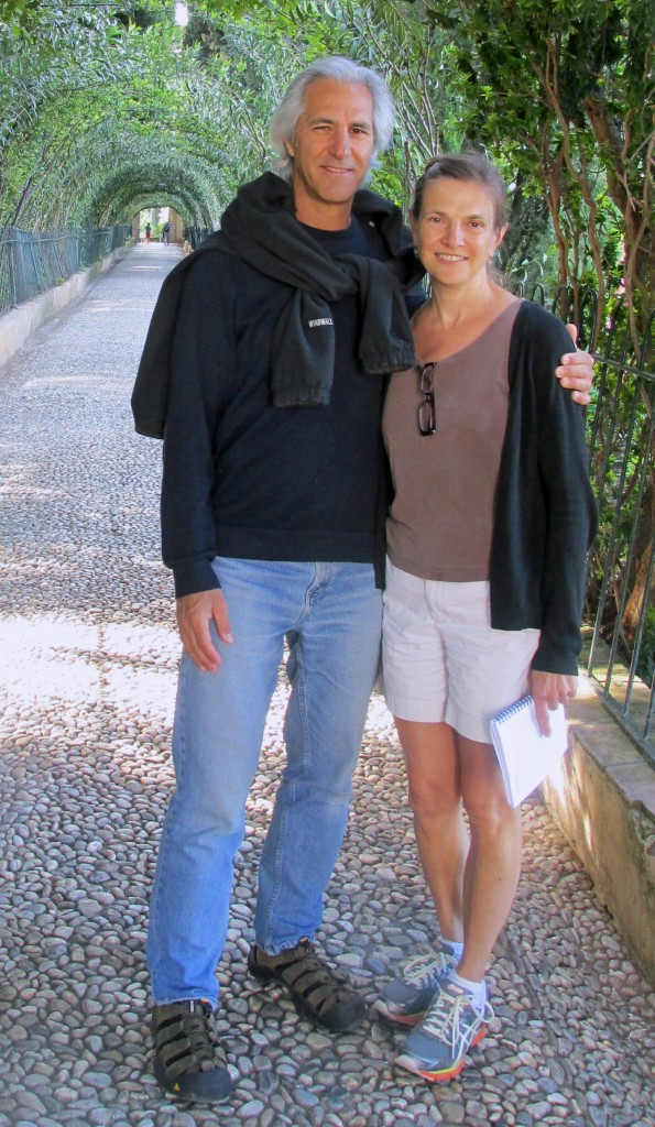 Bill & Ruth visiting their daughter in Spain in 2014