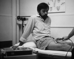 Patient receives ultrasound