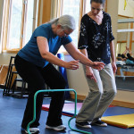 Physical therapy helps overcome back pain.