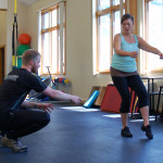 Woman overcomes arthritis, hip pain with PT.