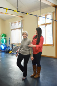 Free Fall Prevention Screening with a Physical Therapist