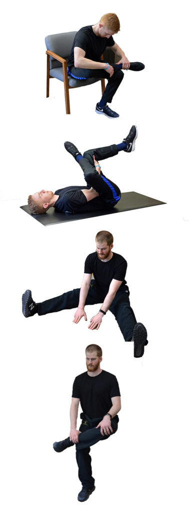 Stretches for the Piriformis Muscle 1