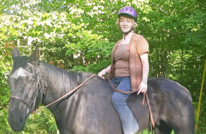 Dawn Famiglietti Back on Her Horse