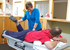 Our physical therapists are highly trained to address your individual needs.