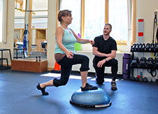 Personal trainers on staff to move you forward.