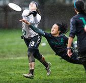 Dartmouth Ultimate Frisbee Champion Angela Zhu