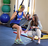 Helping athletes get back to their sport quickly and safely.
