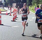 Triathlete Katie Greenham