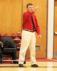 Hanover Marauders Basketball Coach Dan O'Rourke