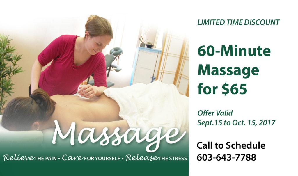 Massage Special Discount Cioffredi