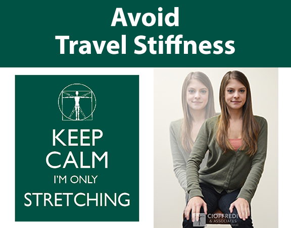 Avoid Travel Stiffness with Stretching and Movement