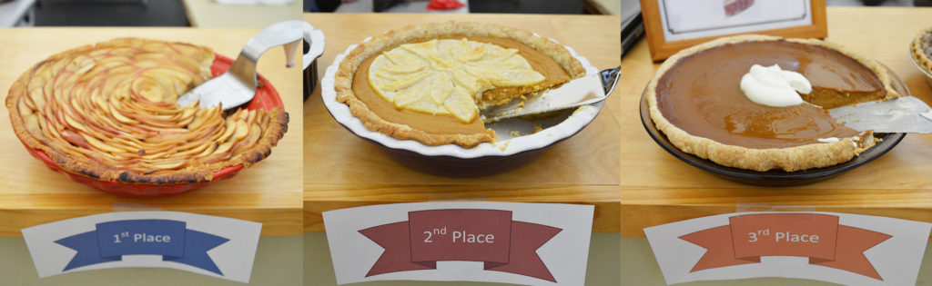 2017 Employee Pie Contest Winning Pies
