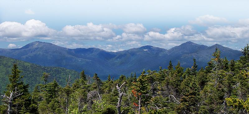 New Hampshire Presidential Mountain Range