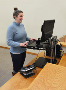 Sit-to-Stand Desk Recommended by Cioffredi Ergonomics Assessment Specialists