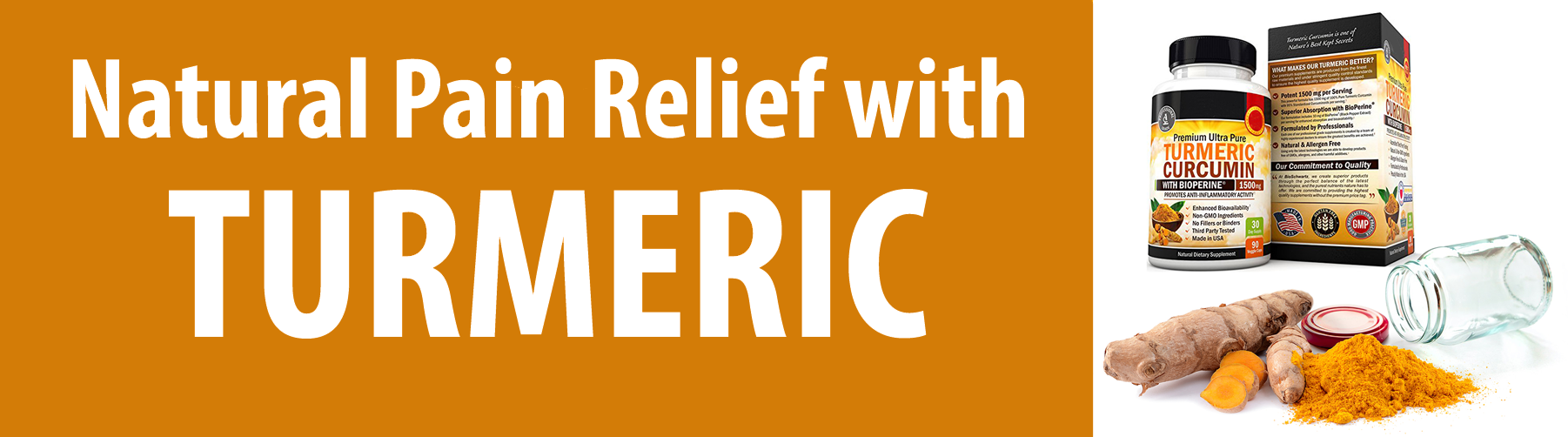 Natural Anti-Inflammatory Pain Relief with Turmeric