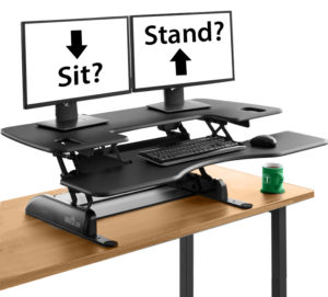 The sit-to-stand desk recommended by Cioffredi ergonomics specialists.