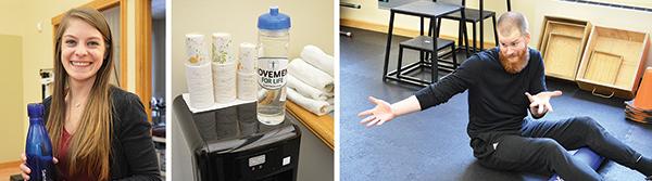 Cioffredi Staff and Water Drinking