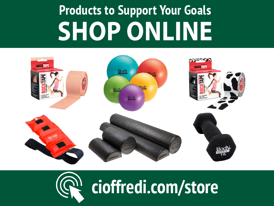 Shop Online at the Cioffredi Online Store
