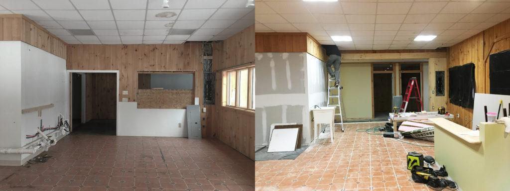 Grantham Treatment Rooms Progress