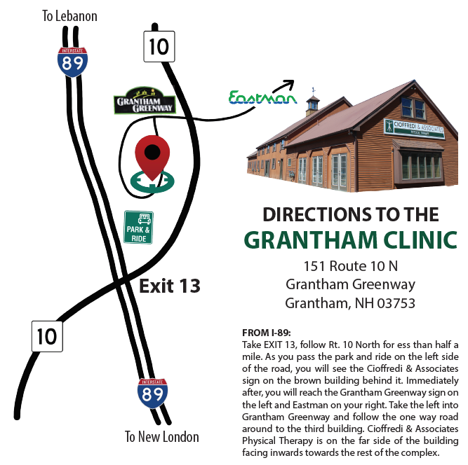 Grantham New Hampshire Clinic New London NH Newport Sunapee Kearsarge Near me Best Pain Doctor Physical Therapy Therapist