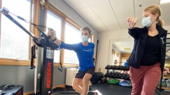 Cioffredi Sports performance Center Lebanon NH neubie neufit covid safe training ski run faster